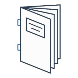 Ikona katalogi w oprawie zeszytowej
