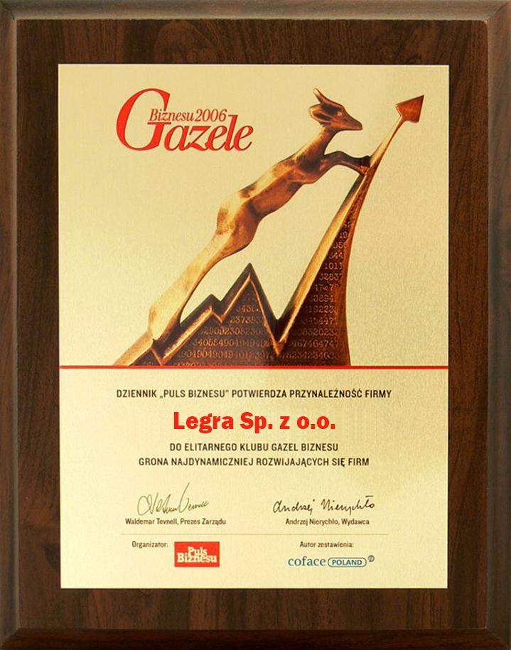 Legra Gazela Biznesu 2006